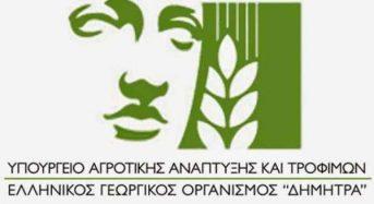 Συνεργασία ΕΛΓΟ-ΔΗΜΗΤΡΑ με Eco Δίβρης ΚοινΣΕπ για την αξιοποίηση του αγροκτήματος