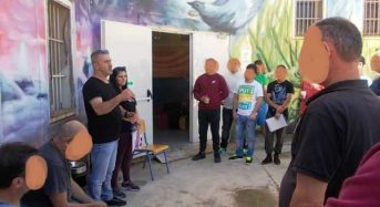 """Επίσκεψη των """"Νέων Οριζόντων"""" στο Κατάστημα Κράτησης Δομοκού."""