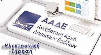 Από 01/01/2020 η εφαρμογή των Ηλεκτρονικών Βιβλίων της Α.Α.Δ.Ε