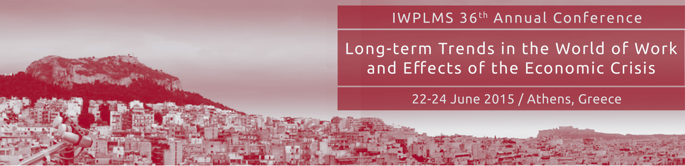 Διεθνές Συνέδριο στην Αθήνα για θέματα Αγοράς Εργασίας 22-24 Ιουνίου 2015