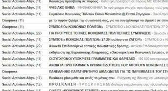 Παράνομη χρήση του αρχείου ΚοινΣΕπ του Μητρώου Κοινωνικής Οικονομίας για αποστολή μηνυμάτων