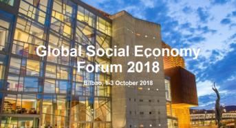 Bilbao 1-3 Οκτώβρη 4ο Παγκόσμιο Φόρουμ Κοινωνικής Οικονομίας .