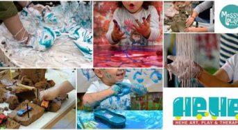 """Η Αέναον-neverest ΚοινΣΕπ στο """"Messy play with Hehe Art"""" στην Καστοριά!"""