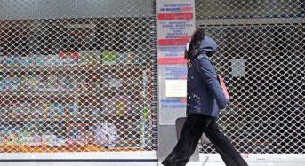 Παράταση του λουκέτου στα καταστήματα τουλάχιστον έως τις 11 Απριλίου