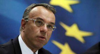 Σταϊκούρας: Το πακέτο μέτρων στήριξης θα επαναληφθεί τον Μάιο