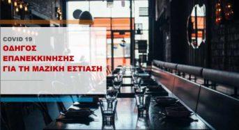 ΕΦΕΤ: Έτσι θα λειτουργήσουν τα εστιατόρια – οδηγός επανεκκίνησης