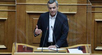 ΚοινΣΕπ Επερώτηση στην Βουλή Αδυναμία χρηματοδότησης από τα προγράμματα του Υπουργείου Πολιτισμού και Αθλητισμού
